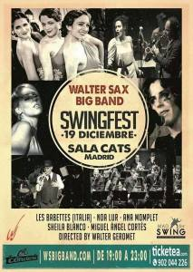 37 Les Babettes @ Swingfest, Madrid (SP) 2014